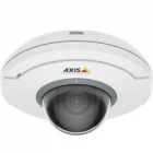 AXIS M5054 Ceiling-mount mini PTZ dome camera with 5x Optical zoom and autofocusing, HDTV 720p (1280x720) 25/ 30fps in H .... (01079-001)