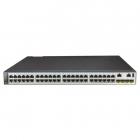 Коммутатор Huawei S5720-52X-PWR-SI bundle (48*10/ 100/ 1000BASE-T ports, 4*10GE SFP+ ports, PoE+, 1*500W AC power) (S572 .... (02350DLX.)