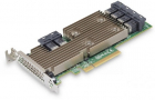 Адаптер LSI HBA SAS9305-24i (PCI-E 3.0 x8, LP ) SAS/SATA 12G, Non-RAID -до 1024, 24port (6*intSFF8643), каб. отдельно (05-25699-00)