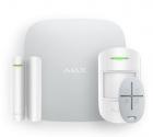 Охранная система AJAX StarterKit White (Стартовый комплект (интеллектуальная централь, датчик движения, датчик открытия, .... (10022.00.WH2)