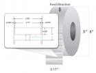 RFID метка UHF Silverline Micro M4i (45 x 13 мм) 800 шт. (10027755)