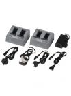 Зарядное устройство для аккумуляторов - 2xDual Battery Charger with Power Supplies & Power Cords (Europe (101070-02-04)