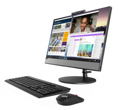 "Моноблок Lenovo V530-22ICB All-In-One 21, 5"" I3-8100T 8Gb 256GB Int. DVD±RW AC+BT USB KB&Mouse Win 10_P64-RUS 1Y OnSite .... (10US009BRU)"