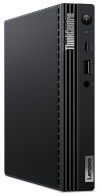 Персональный компьютер Lenovo ThinkCentre Tiny M70q Pen G6400T, 4GB DDR4-2666, 1TB HDD 7200rpm, Intel UHD 610, WiFi, BT, .... (11DT0084RU)