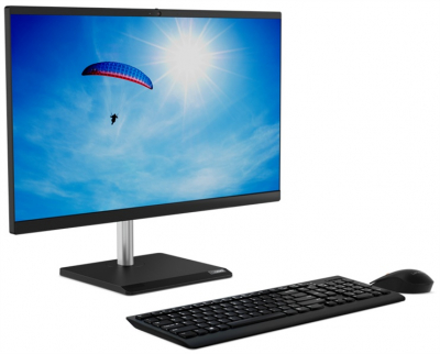"Моноблок Lenovo V50a-24IMB All-In-One 23, 8"" i7-10700T, 16GB, 512GB SSD M.2, AMD R625 2GB, WiFi, BT, DVD-RW, USB KB&Mous .... (11FK0056RU)"