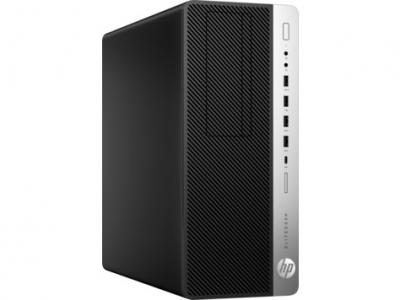 Персональный компьютер HP EliteDesk 800 G3 TWR Core i7-7700 3.6GHz, 8Gb DDR4-2400(1), 256Gb SSD, DVD-RW, USB Slim Kbd+US .... (1KB24EA#ACB)