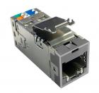 Модульное гнездо AMP-TWIST SLX Кат.6, экран., без пылезащ.крышки, цвет серый AMP-TWIST SLX Modular Jack, Сat 6, shielded .... (2153448-4)