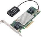 Контроллер Microsemi Adaptec ASR-81605ZQ (PCI-E v3 x8, LP) SGL SAS 12G RAID 0, 1, 10, 1E, 5, 6, 50, 60, 16 ports (int 4* .... (2281600-R)