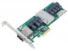 Контроллер Adaptec AEC-82885T (PCI-E x4, LP) SGL Экспандер SAS 12G, 36port(int 7*SFF8643+ ext 2*SFF8644), Каб.отдельно