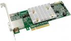 Контроллер Microsemi Adaptec SmartRAID 3154-8E(PCI Express 3.0 x8, LP, MD2), SAS-3 12G, RAID 0, 1, 10, 5, 50, 6, 60, 8po .... (2290800-R)