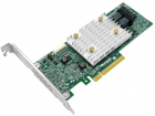 Контроллер Microsemi Adaptec HBA 1100-8I (PCI Express 3.0 x8, LP, MD2), SAS-3 12G, 8port(int2*SFF8643), Каб.отдельно (22 .... (2293200-R)