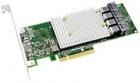 Контроллер Microsemi Adaptec HBA 1100-16I (PCI Express 3.0 x8, LP, MD2), SAS-3 12G, 16port(int4*SFF-8643), Каб.отдельно .... (2293500-R)