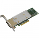 Контроллер жестких дисков Microsemi Adaptec HBA 1100-16e Single, 16 external ports, PCIe Gen3, x8, , , , FlexConfig, (2293600-R)