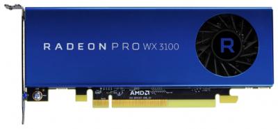 Видеокарта Graphics Card AMD Radeon Pro WX 3100, 4GB, 2-mDP, 1-DP, (Z2 G4 SFF/ Tower, Z4, Z6, Z8, EliteDesk 705 G4 MT WS .... (2TF08AA)