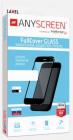 Закаленное защитное стекло FullCover GLASS для Huawei P30 Lite / Nova 4e, ANYSCREEN, (Black) (300199)
