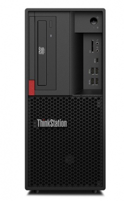 Рабочая станция Lenovo ThinkStation P330 Tower, 400W, INTEL_CORE_I7-8700_3.2G_6C, 1 x 8GB_DDR4_2666_NON-ECC_UDIMM, 1 x 2 .... (30C50035RU)