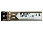 Модуль D-Link 312GT2/ A1A, SFP Transceiver with 1 1000Base-SX+ port.Up to 2km, multi-mode Fiber, Duplex LC connector, Tr .... (312GT2/ A1A)