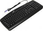 Клавиатура KB-110 Black PS2/ RU/ CB (31300700101)