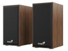 Акустическая система Genius Speaker System SP-HF180, 2.0, 6W(RMS), WOOD (31730029400)