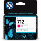 Картридж Cartridge HP 712 для DJ T230/ T630/ T650/ Studio, пурпурный, 29 мл (3ED68A)