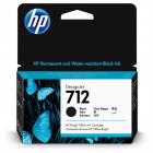 Картридж Cartridge HP 712 для DJ T230/ T630/ T650/ Studio, черный, 38 мл (3ED70A)