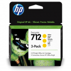 Картридж Cartridge HP 712 для DJ T230/ T630/ T650/ Studio, желтые, тройная упаковка 3ED69A (3*29мл) (3ED79A)