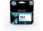 Картридж HP 963 Cyan Original Ink Cartridge (3JA23AE#BGX)