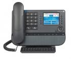 "8058s WW Premium Deskphone Moon Grey, 3, 5"" 320x240 Color display, Wide Band Corded Confort Handset, Alphabetic Keyboard .... (3MG27203WW)"