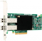 Контроллер DELL Controller HBA FC Emulex LPe31002-M6-D Dual Port, 16Gb Fibre Channel, Full Height (403-BBMF)