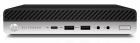 Пк HP EliteDesk 800 G4 Mini Core i7-8700k 3.7GHz, 16Gb DDR4-2666(1), 512Gb SSD, WiFi+BT, USB kbd+mouse, Stand, VGA, Intel Unite .... (4KX52EA#ACB)