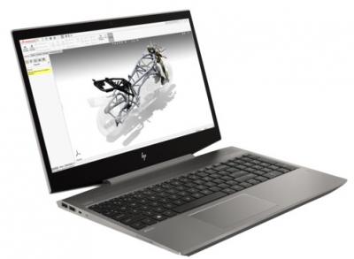 "Ноутбук без сумки HP ZBook 15v G5 Core i7-8750H 2.2GHz, 15.6"" FHD (1920x1080) IPS AG, nVidia Quadro P600 4Gb GDDR5, 16Gb .... (4QH61EA#ACB)"