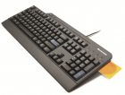 Клавиатура Lenovo USB Smartcard Keyboard (Russian/ Cyrillic) Smart cards that comply ISO 7816-1, 2, 3 , 4 memory and mic .... (4X30G19460)