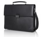 "Сумка для ноутбука ThinkPad Executive Leather Case (up to 14, 1""w - T/ W/ SL/ L/ Edge etc), Black, 1.24 kg (4X40E77322)"