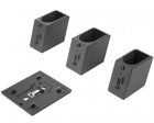 Крепление для монитора ThinkCentre Tiny/ Nano Monitor Clamp II ( this mounting device need combined with Tiny VESA Mount .... (4XH0Z42451)