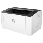 Принтер HP Laser 107a (A4, 1200dpi, 20ppm, 64Mb, Duplex, USB 2.0 , 1tray 150, 1y warr, cartridge 500 pages in box, repl. .... (4ZB77A#B19)