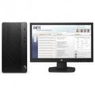 Персональный компьютер + монитор HP Bundle DT PRO A MT AMD Ryzen3 Pro, AMD Ryzen3 Pro / 4GB / 500GB DVD-WR kbd / USBmous .... (4CZ18EA#ACB)