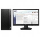 Персональный компьютер + монитор HP Bundle DT PRO MT Core i3-7100/ 4GB / 500GB HDD / DOS / DVD-WR / 1yw / kbd / USBmouse .... (4CZ44EA#ACB)