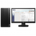 Персональный компьютер + монитор HP Bundle DT PRO MT Core i3-7100/ 4GB / 500GB HDD / DOS / DVD-WR / 1yw / kbd / USBmouse .... (4CZ44EA#ACB)