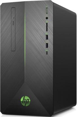 Персональный компьютер HP Pavilion Gaming 690-0004ur MT, Core i7-8700, 16GB (2x8GB) 2666 DDR4, SSD 256GB + 1TB, NVIDIA G .... (4GM55EA#ACB_)
