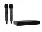 Sennheiser XSW 1-835 DUAL-A Вокальная РЧ-система, 548-572 МГц, 10 каналов, настольный двухканальный приёмник, два ручных .... (508270)