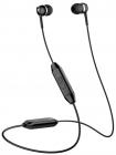 Sennheiser CX 150 BT Black, Внутриканальные Bluetooth наушники с микрофоном, 20 - 20000 Гц, Bluetooth 5.0, поддержка код .... (508380)