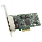 Контроллер DELL NIC Broadcom 5719 QP 1Gb Network Interface Card, Low Profile, CusKit (W0N4T) (analog 540-11147) (540-BBHB)