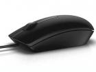 Мышь оптическая проводная (черная) 570-AAIS Оптическая мышь Dell-MS116 - черная