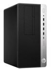 Пк HP EliteDesk 705 G4 MT AMD Ryzen 5 Pro 2400G 3.6GHz, 8Gb DDR4-2666(1), 2TB 7200, USB Slim Kbd(no Mouse), Platinum 400 .... (5RM75EA#ACB)