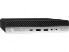 Пк HP EliteDesk 800 G4 Mini Core i5-8700 3.2GHz, 8Gb SODIMM DDR4-2666(1), 256Gb SSD, USB Slim Kbd+Mouse, Stand, HDMI, 3y, FreeD .... (5RM77EA#ACB)
