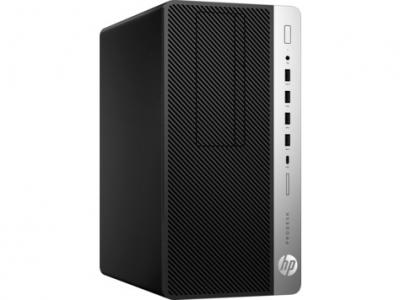 Пк HP ProDesk 600 G4 MT Core i3-8100 3.6GHz, 4Gb DDR4-2666(1), 1Tb 7200, USB Slim Kbd+Mouse, HDMI, Platinum 250W, 3y, Fr .... (5RM91EA#ACB)