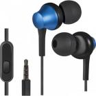 Defender Гарнитура для смартфонов Pulse 470 черный+синий, вставки Defender Гарнитура для смартфонов Pulse 470 черный+син .... (63471)