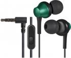 Defender Гарнитура для смартфонов Pulse 470 черный+зеленый, вставки Defender Гарнитура для смартфонов Pulse 470 черный+з .... (63473)