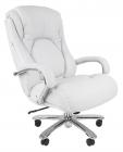 Офисное кресло Chairman 402 Россия кожа белая (7015967)