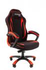 Кресло Офисное кресло Chairman game 28 Россия черный/ красный (7059196)